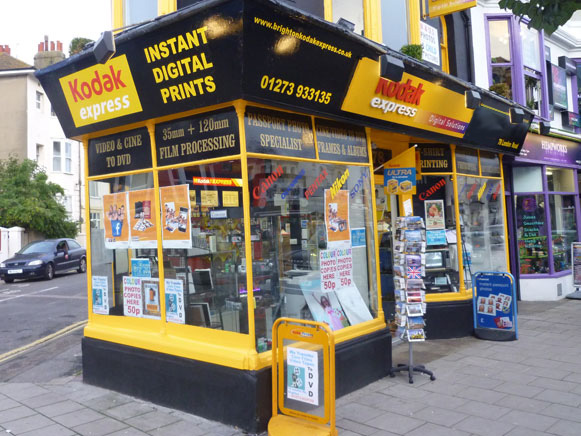Kodak Express Brighton Shop Front